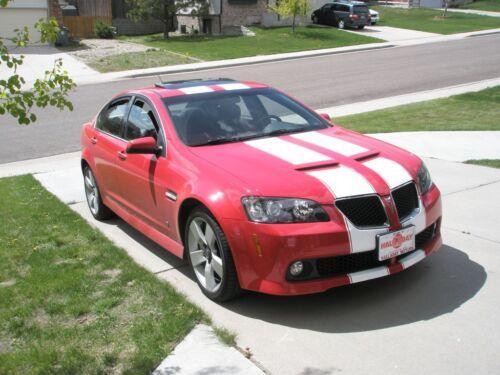 """pontiac G8 11/"""" Twin Rally Stripe Set Stripes Decals GT Ls6 LS2 LS7"""