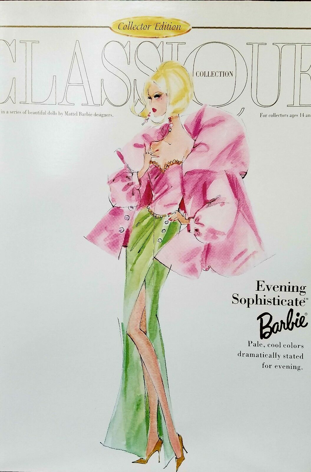 Noche Sophisticate Barbie Classique Collection
