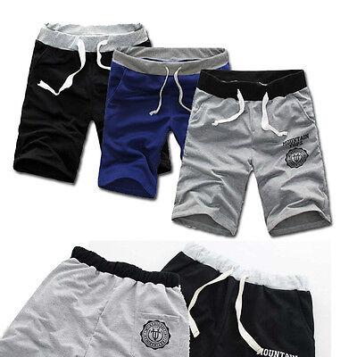 Fashion Mens Shorts Pants Gym Sport Jogging Cotton Trousers Casual Beach Pants