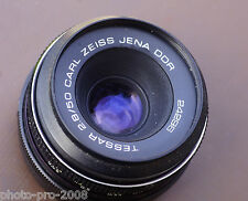 m42 CARL ZEISS Jena DDR Tessar 50mm f/2.8 Camera Lens.full frame A/M Aperture