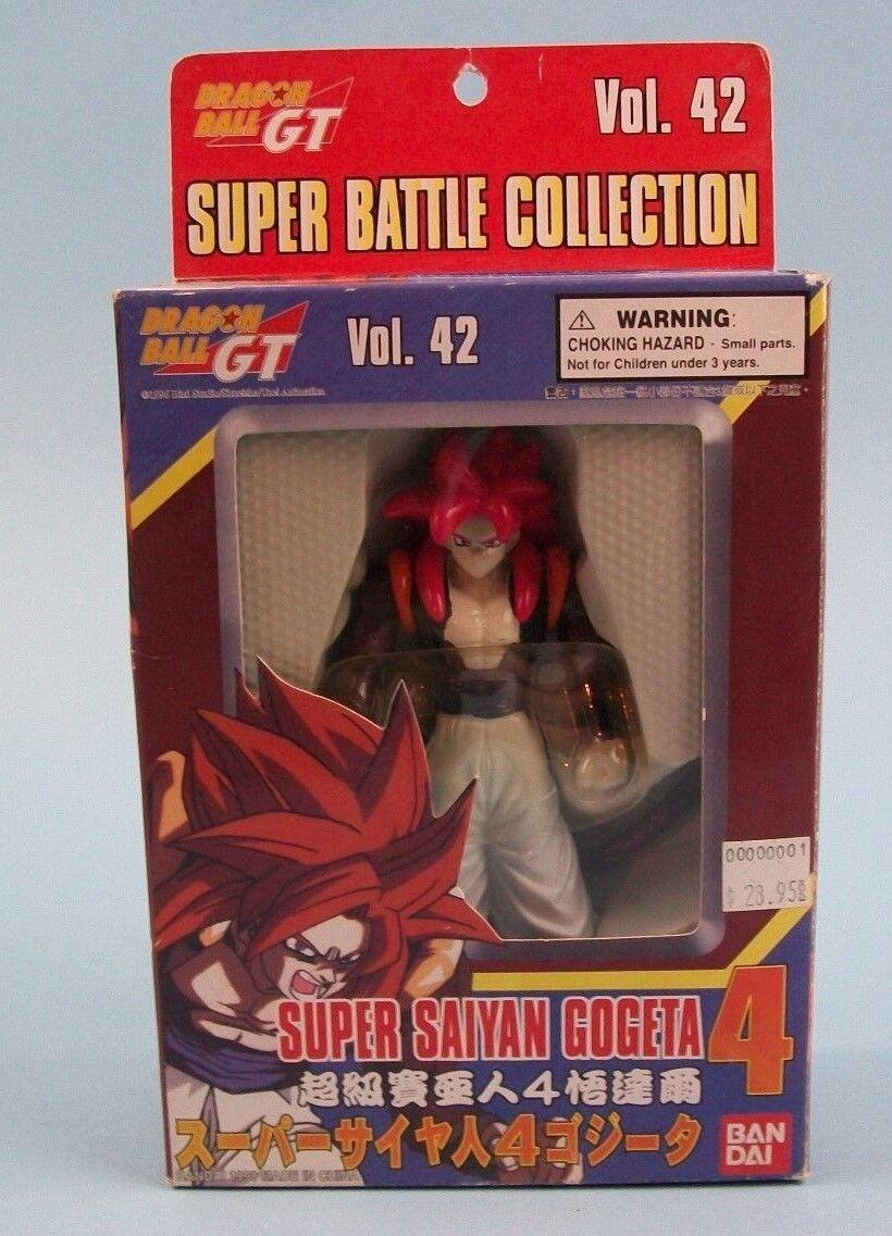 Dragon Ball GT Super Battle Collection Super Saiyan Gogeta 4 Vol.42 Bandai