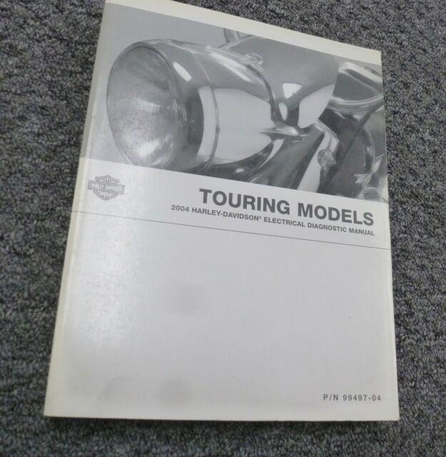 2004 Harley Davidson Touring Road Glide Electrical Wiring Diagrams Manual