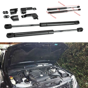 2Pc Bonnet Hood Shock Lift Struts Bar Support Arm Gas Spring For Nissan Frontier