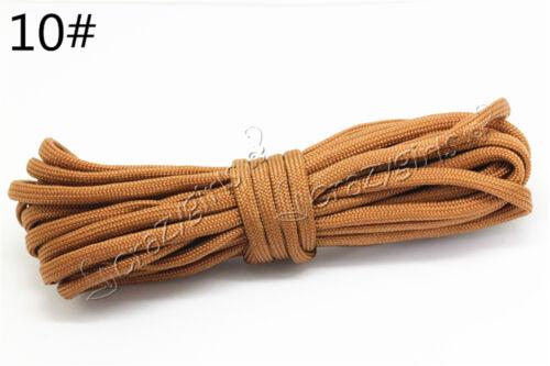 5//20//100Meter 4mm 7-Strand Lanyard Rope Nylon Parachute Cord Survival Camping S