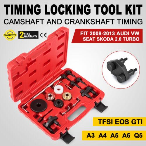 FOR VAG 08-13 AUDI VW 2.0 TURBO TIMING LOCKING TOOL KIT Camshaft OEM Timing