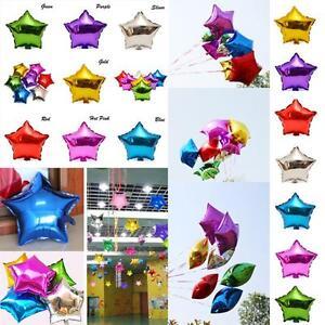Metallic-Birthday-Helium-Party-Supplies-18-Inch-Foil-Balloons-Star