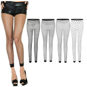 Fashion-Womens-Ladies-Sexy-Stockings-Fishnet-Socks-Tights-Black-Sheer-Pantyhose