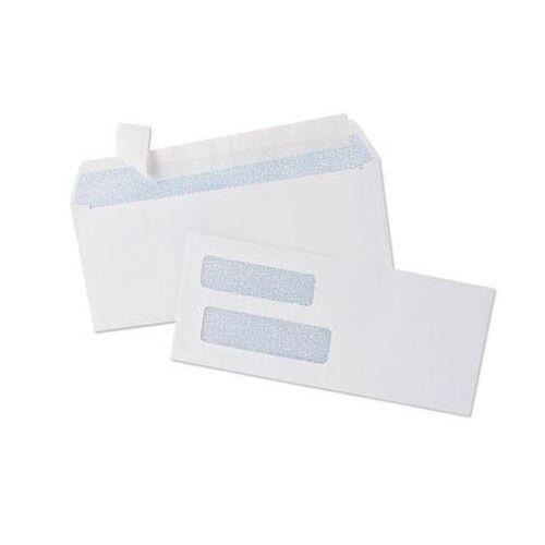 1000 Quickbooks Self Seal Window Envelopes for Checks