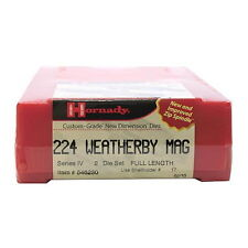 Hornady Ammo Reload Equipment Series IV Die Set 224 Weatherby Magnum .224 546230