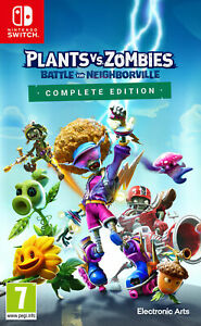 Plants vs Zombies Battle for Neighborville Complete Nintendo Switch Brand New