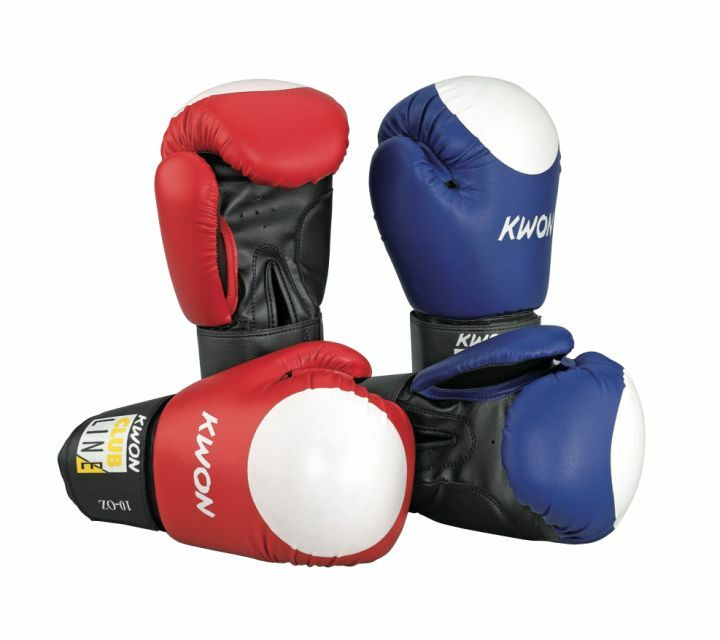 Pointer Boxhandschuh 10oz, Kwon. blue white od. red white