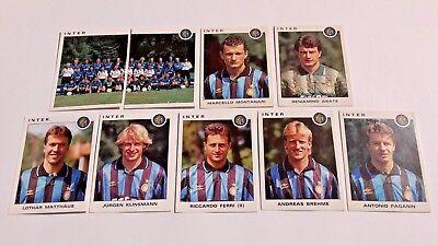 1993-94 INTER Calciatori Panini SCEGLI *** figurina con velina ***
