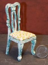 Dollhouse Miniature Dining Room Kitchen Chair 1:12 inch scale F34 Dollys Gallery