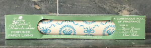 VTG-Country-Gardens-Perfumed-Paper-Drawer-Lining-12Ft-Roll-DEAD-STOCK-NOSWT-NIB