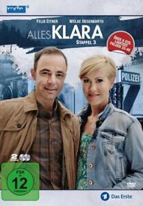 2 DVDs * ALLES KLARA - STAFFEL 3 (MB) FOLGEN 33-40 # NEU OVP ^