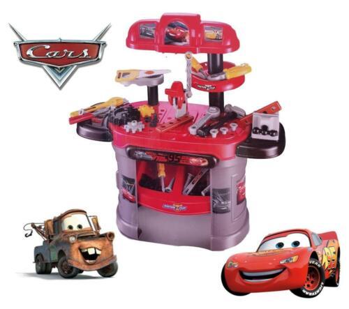 Cars 3 Pixar Tools Work Bench Mechanic Children Role Play Pretend Kids Toy