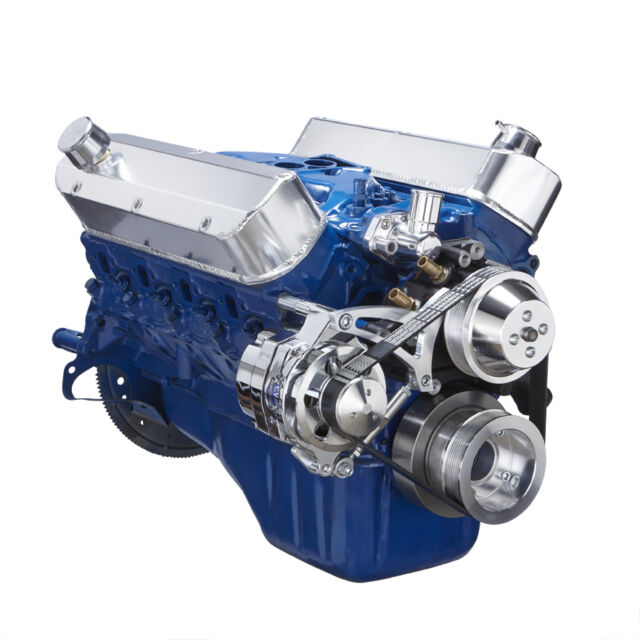 Small Block Ford 289 302 Serpentine Pulley Conversion Kit Billet Alternator Sbf For Sale Online Ebay