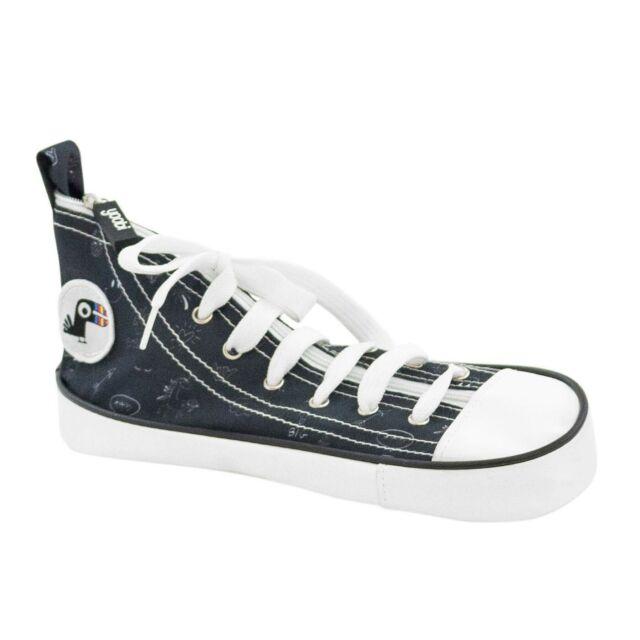 Yoobi Sneaker Pencil Case - Black & White