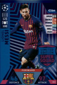 2018-19-Topps-UEFA-Champions-League-Match-Attax-Insert-Singles-Pick-Your-Cards