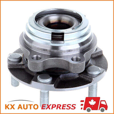 Front Wheel Bearing and Hub Assembly fits 2010 Smart Fortwo