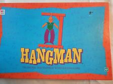 Milton Bradley Hangman, Word Guessing Game, 1999, Ages 8 to Adult, 2 player