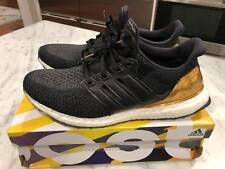 Adidas Ultra Boost LTD Olympic Medal Black Gold BB3929 Mens Size 11