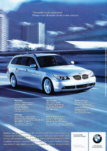2005-BMW-530xi-Sport-Wagon-Classic-Vintage-Advertisement-Ad-D12