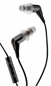 Etymotic Research MC3 Noise Isolating In-Ear Earphones w 3-Button Remote (Black)