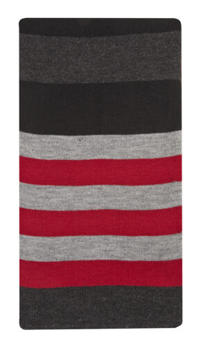 Pierre Roche Mens Knitted Striped Scarf
