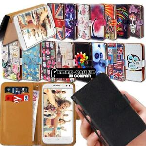 For Various Doogee X Series Phones Leather Smart Stand Wallet Case Cover