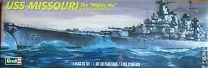 Revell-Monogram-1-535-USS-MISSOURI-US-NAVY-Cuirasse-Model-Kit