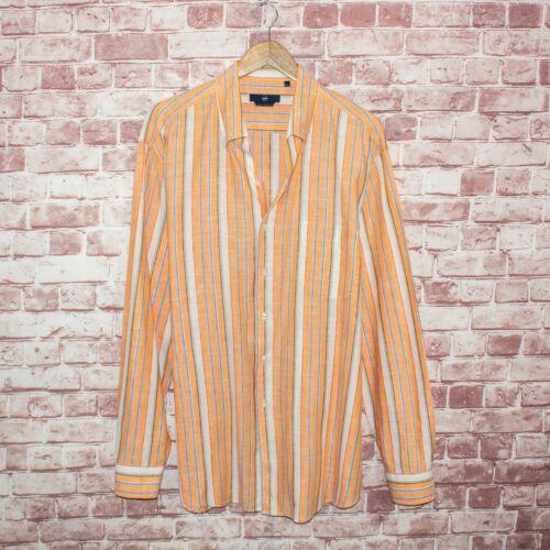 Zegna Sport Men's Linen Cotton Button Front Shirt