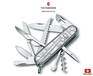Victorinox Swiss Army Knife 91mm Huntsman Silvertech 15