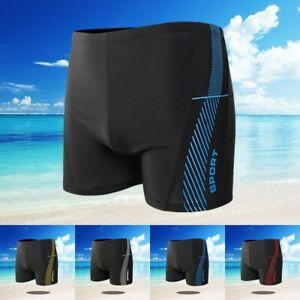 Herren Boxer Badehose Strand Surfen Schwimmen Bademode Badeanzug Sommer Neu