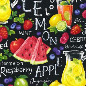 Fabri-Quilt-Farmer-John-039-s-Garden-Party-Lemonade-100-cotton-Fabric-by-the-yard