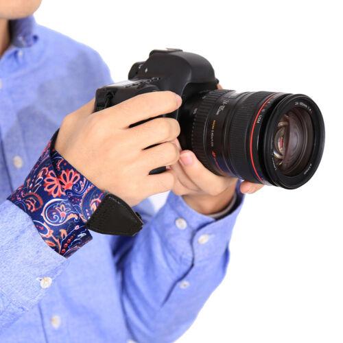 UK/_ Retro Ethnic Flower Universal SLR DSLR Camera Shoulder Neck Strap for Canon