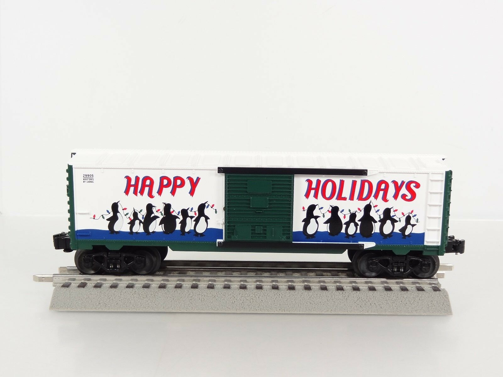Lionel O Scale 2002 Employee Christmas Box Car Item 6-29905 Rare Offering