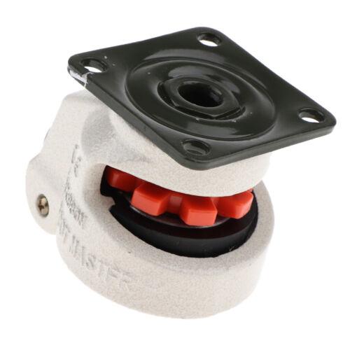 4pc Nylon Alloy Wheel Leveling Caster Flexibler Geräuscharmer Foot Masters