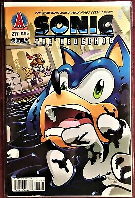 Sonic Hedgehog Comic Book 217 November 2010 Amy Rose First Edition Bagged Mint Ebay
