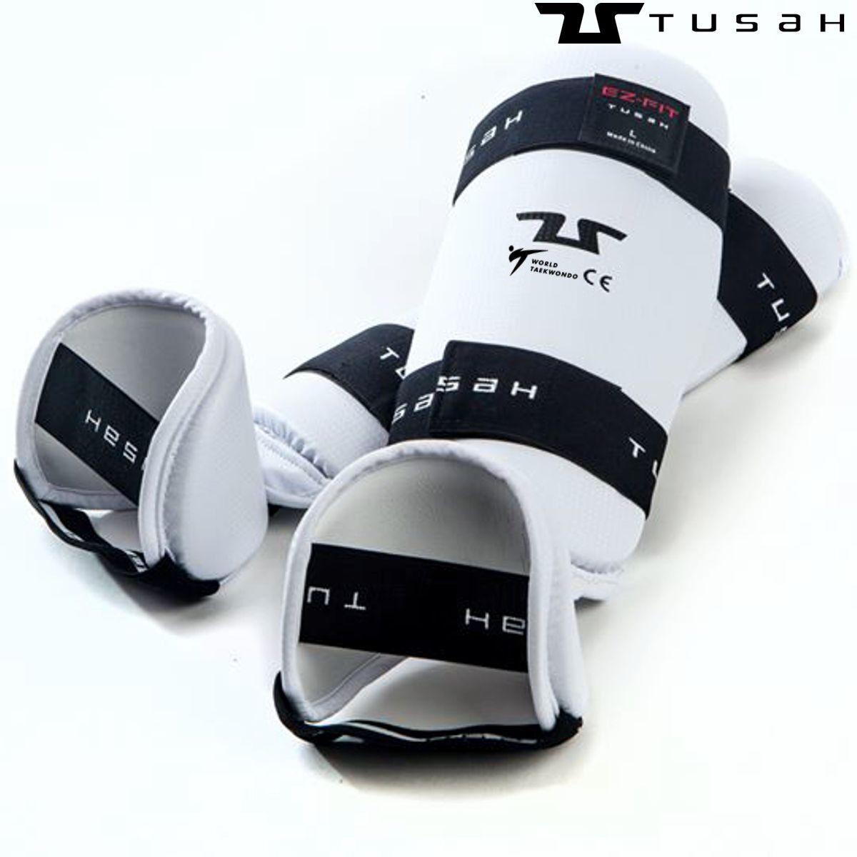 Tusah - Paratibia con Piede per Taekwondo Omologati WT