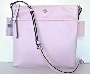New-Kate-Spade-New-York-Jae-Flat-Crossbody-Nylon-handbag-Serendiptiy-Pink