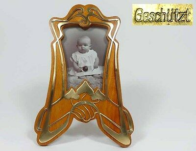 Um 1900 High Quality Darmstadt Fine Old Picture Frames/photo Frame Art Nouveau