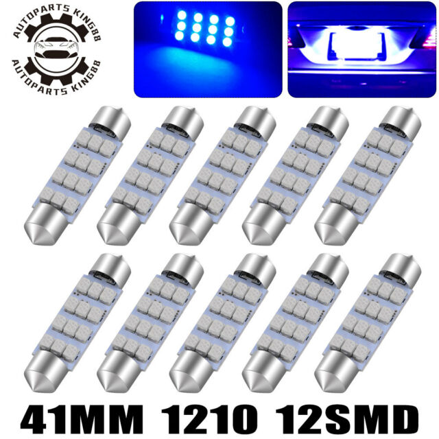 2X 18-SMD License Plate Map Light 194 T10 White LED Bulbs for Chevy City Express