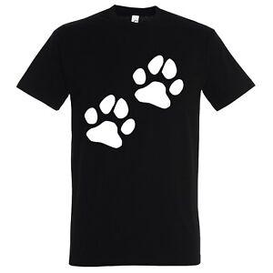 ▷ FUN T Shirt + Druck Hundepfoten | Hund | Sprüche | Witze