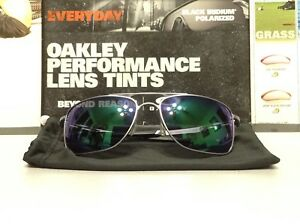 99d5380761 Oakley Gauge 8 L Matte Lead w  Jade Iridium lenses - SKU  4124-0462 ...