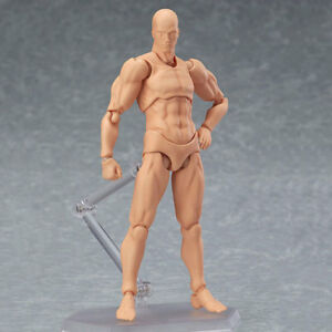 Male//Female PVC Action Figma Figure Body Toy For Painting Drawing Sketch