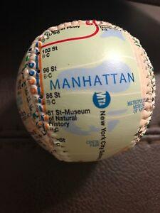 Subway Map Baseball.Details About Nyc Mta Baseball Subway Map