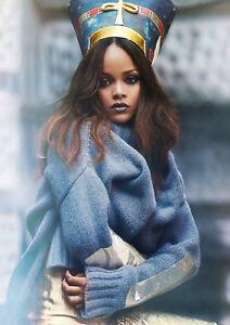 Art print POSTER CANVAS Rihanna