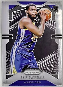 2019-20-Panini-Eric-Paschall-Prizm-Base-Rookie-Card-RC-Golden-State-Warriors