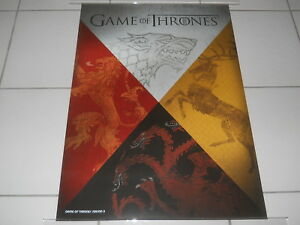 GAME-OF-THRONES-RARE-AUST-034-COAT-OF-ARMS-034-N-MINT-ORIG-PROMO-DVD-MOVIE-POSTER